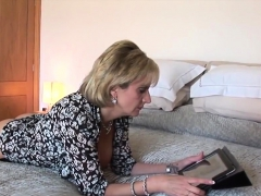 Cheating English Mature Lady Sonia Pops Out Her Huge Hooters