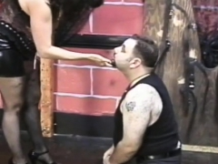 filthy whore with freshly hairless vagina gets taped peeing WWW.ONSEXO.COM
