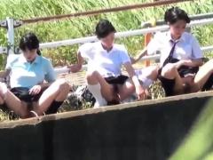 Weird Asian Students Piss