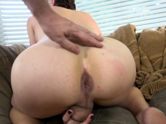 ts-casting-babe-bends-over-and-tugs