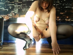 Mature Amateur In Sexy Stockings