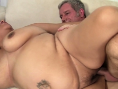 Hugeass Plumper Gets Bent Over And Drilled