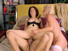 Granny Gone Wild, Her Pussy And Prick Defiled