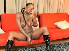 wanking-black-tranny-spreads-her-legs