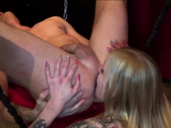 German Amateur Teen Fuck In Bdsm Fetish Session With Rimming