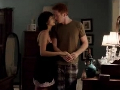 morena baccarin nice tits and ass in sex scenes PornBookPro