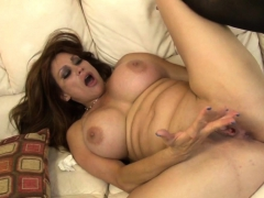 Real Stepmom Gets Fucked