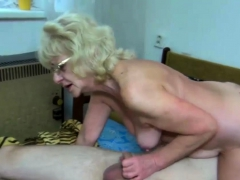naughty granny wants some cock too