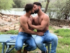 Gay Stallion Eating Ass