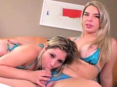 Ts Carol Penelope Bangs A Sexy Blonde Girl