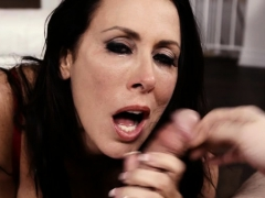 brunette-milf-face-fuck-and-cum-in-mouth