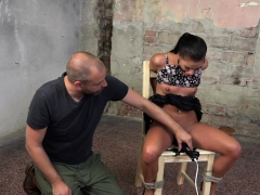 Submissive Euro Gets Tiedup And Dominated
