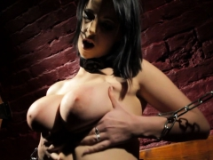 busty-european-mistress-dildoing-her-pussy