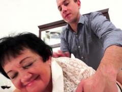 Pussylicked Euro Grandma Fucked Until Cumshot
