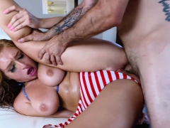 TeenCurves - Big Titty Teen Fourth Of July Fuckfest