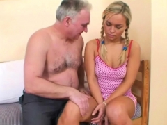 Pleasant Beauteous Babe Loves Old Males