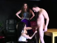 naughty british femdom babes strip cfnm amateur