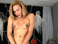ebony-transsexual-jerks-in-halloween-costume