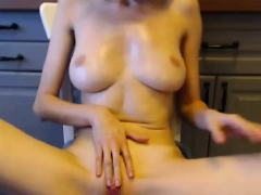 beauty-big-tits-shaved-masturbates-for-you