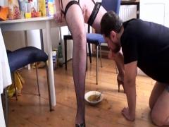 Nylon Ladies Feeding Slaves