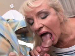 Old Blonde Loves Getting Her Pussy Fucked Hard