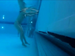 Secretly Filmed Under Water - Spa