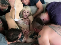 Ts Lena On Her First Gangbang Scene With Her Hunk Guyfriends