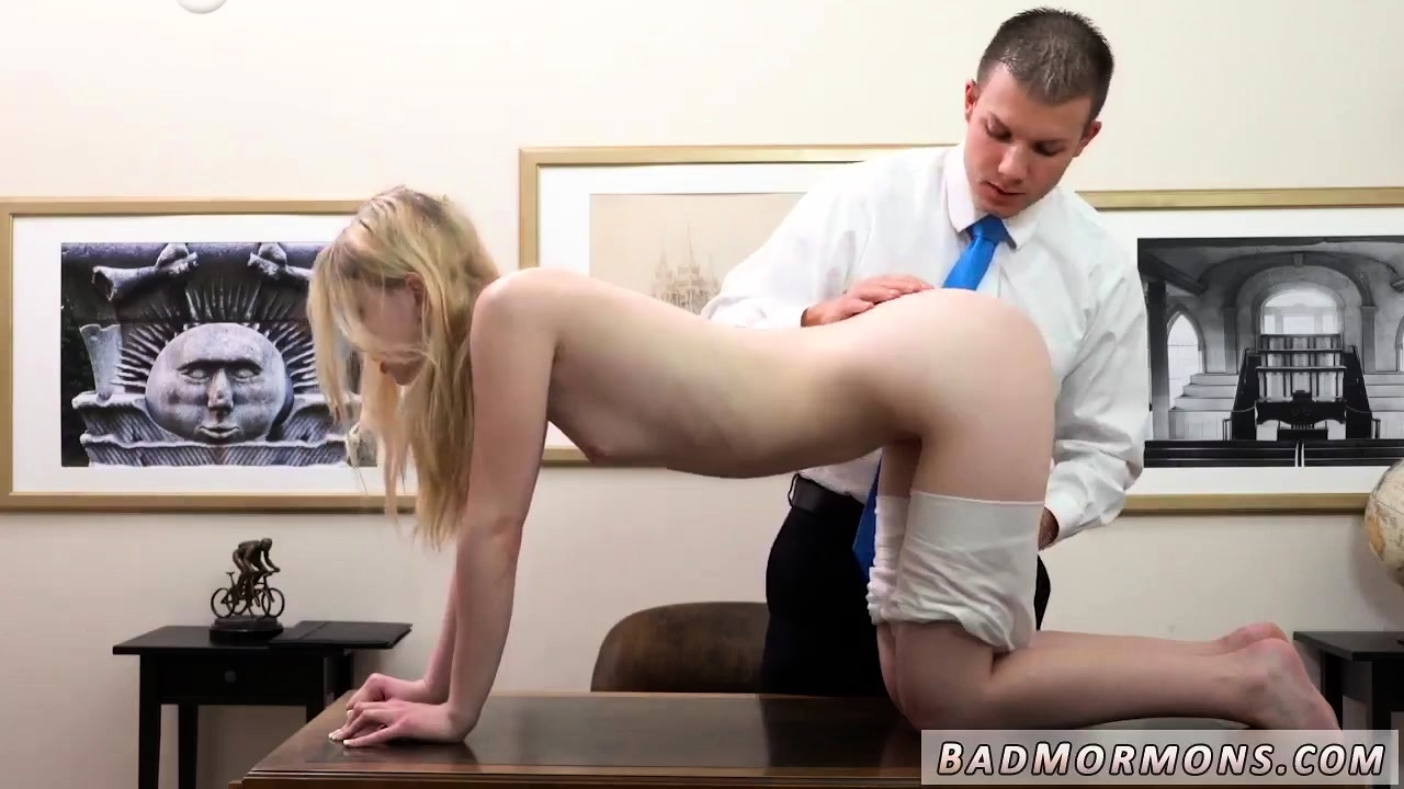 Natural Blonde Teen Anal