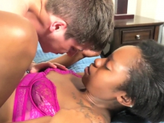 Teen Ebony Shemale Getting Anally Drilled