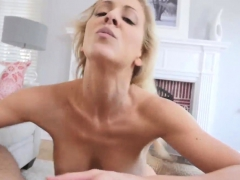 sexy blonde milf and penetrated in shower cherie deville in