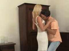 His Blonde Girlfriend Cheating With His Brother