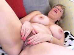 Busty Jen Pleases Her Wet Cunt