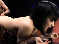 hardcore asian japanese slut threesome