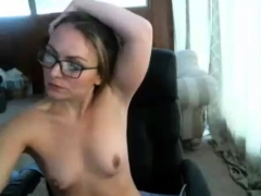 blonde-milf-fingering-her-wet-pussy-in-black-stockings