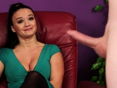 Cfnm British Babe Instructs Sub Guy To Jerk Porn Video