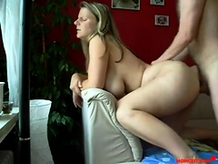 horny amateur big titted milf loves hard homemade anal fuck