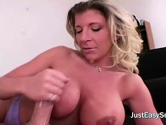 sexy handjob from milf