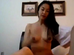Hot Chinese Girl Cowgirl Style