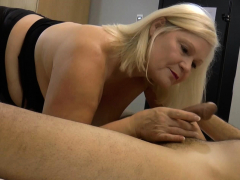 Laceystarr - Hooker Gilf Creampied By A Fortunate Customer