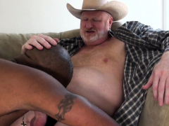 chubby-mature-bare-unsaddles-black-stud