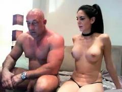 hot big titted asian amateur webcam striptease