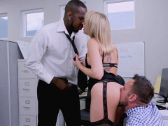 big titted secretary double nailed in the office