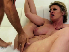 horny milf squirts while screwing her man