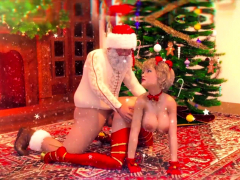 Christmas Futanari Animation