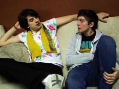 Horny Brasilian Gay Twinks Hardcore Anal Games On Floor