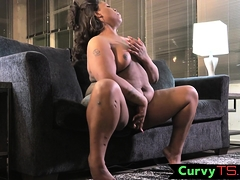 bigtitted-ebony-bbw-wanking-her-dong