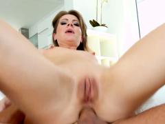 Sasha Zima in ass gaping gonzo hardcore anal scene by Ass