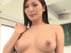 Lever stuffed classy asian Yuna Shiina's wet quim