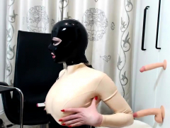 fetish-wife-masturbation-in-latex