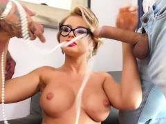 Hot Joanna gets fucked hard by studs